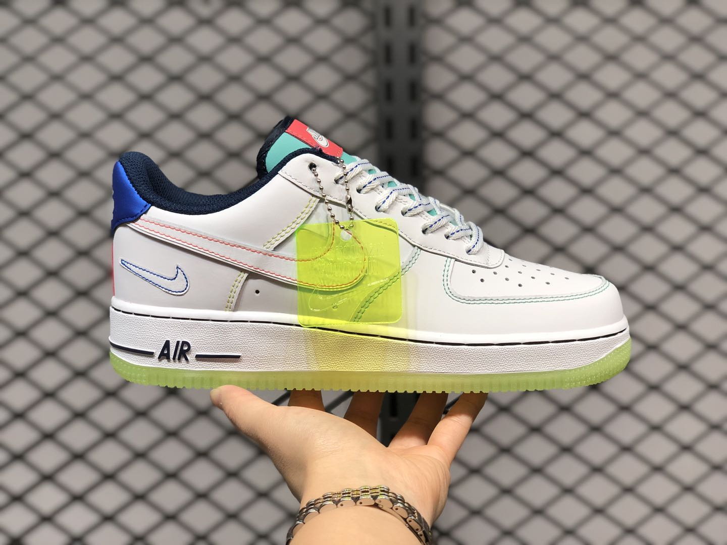 """Nike Air Force 1 Low GS """"Outside The Lines"""" Sale CV2421-100 ..."""