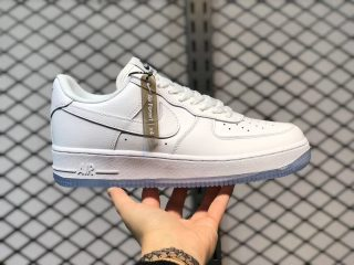 Nike Air Force 1 Low White/Black-Ice Blue Hot Sale CV1699-101