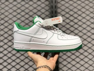 Nike Air Force 1 Low White/White-Pine Green Outlet Online CV1724-103
