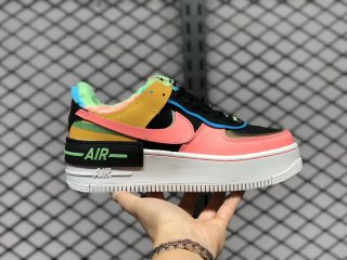 Nike Air Force 1 Shadow SE Solar Flare/Atomic Pink-Baltic Blue CT1985-700