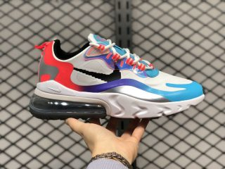 "Nike Air Max 270 React ""Have A Good Game"" White Iridescent DC0833-101"