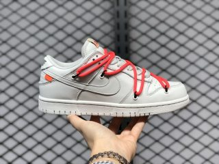 Nike SB Dunk Low White Solar Red Lifestyle Shoes CT0856-900