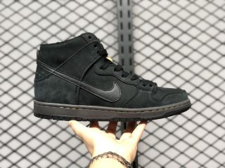 "Nike SB Zoom Dunk High ""Deconstructed Premium"" Black/Velvet Brown-Peat Moss AR7620-002"