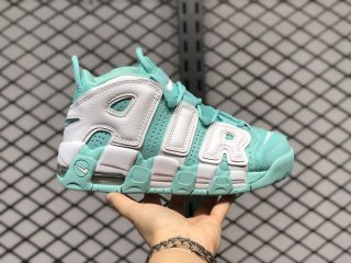 "Nike Wmns Air More Uptempo ""Island Green"" On Sale 415082-300"