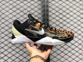 "Nike Zoom Kobe 7 ""Cheetah"" Orange/Black-Silver-Grey 488371-800"