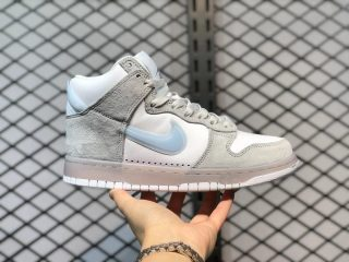 "Slam Jam X Nike Dunk High ""Light Grey"" White/Clear/Pure Platinum DA1639-100"