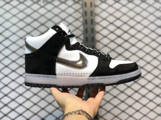 Slam Jam x Nike Dunk High White/Clear Black-Pure Platinum DA1639-101