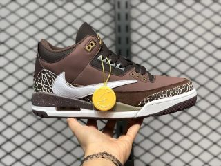 Travis Scott x Air Jordan 3 High Retro Antique Brass 626988-018
