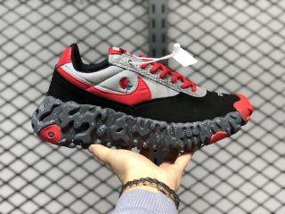 Undercover x Nike ISPA OverReact Core Black/Gym Red-Wolf Grey