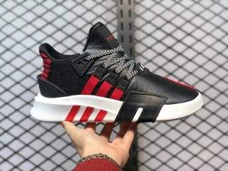 Adidas EQT Bask ADV Black/University Red Running Shoes FW4249