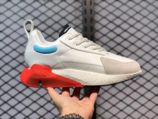 Adidas Y-3 Orisan Rice White/Ice Blue-Orange Athletic Sneakers FX1428