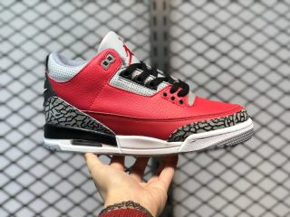 "Air Jordan 3 SE ""Red Cement"" Fire Red/Fire Red-Cement Grey CK5692-600"