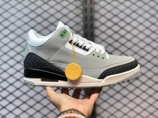 Air Jordan 3 Tinker Light Smoke Grey/Chlorophyll-Black-White-Sail 136064-006