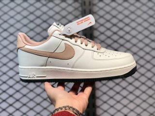 Latest Nike Air Force 1 '07 White Pink Black Sneakers CJ6065-500