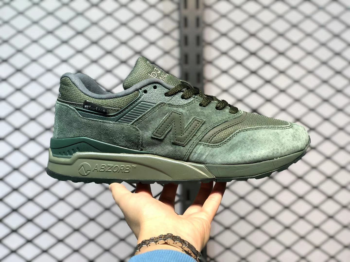 New Balance 997 Super Fabric Green For Online Sale M997NAL ...