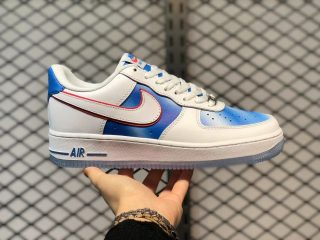 Nike Air Force 1 Low Pacific Blue/University Red-White DC1404-100