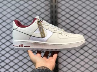 Nike Air Force 1 Low White/Gym Red Sneakers DD7209-101