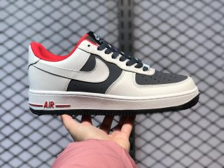 Nike Air Force 1'07 Low White/Dark Navy-Fire Red Men's Sneakers DD7209-109