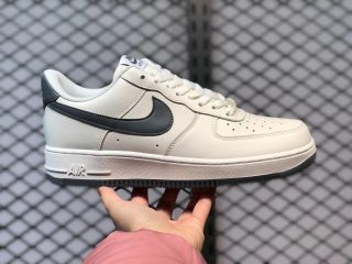Nike Air Force 1'07 Low White Grey Black Outlet Online DH2477-001