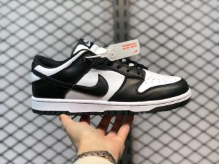 Nike Dunk Low White/Black-White Skate Shoes DD1391-100