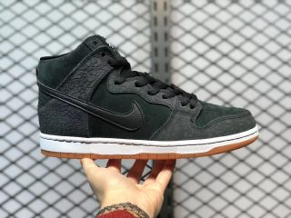 Nike SB Dunk High Pro Black Gum Light Brown Online Sale 313171-065