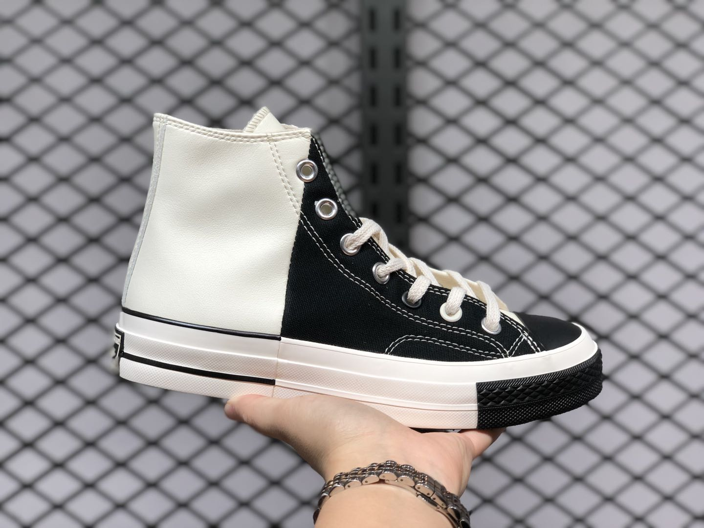 New Converse Chuck All Star Black White Canvas Shoes 168623C ...