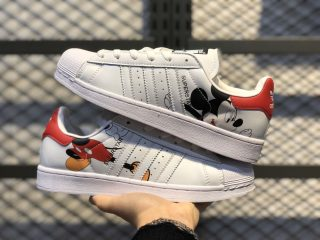 Mickey Mouse x adidas Superstar Cloud White/Cloud White-Core Black FW2901