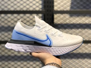 Nike React Infinity Run Flyknit Solid White/Photo Blue CD4371-101