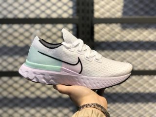 Nike React Infinity Run Flyknit White/Black/Iced Lilac CD4372-100