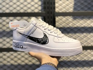 """Nike Air Force 1 Low """"Sketch Pack"""" White/Black-White CW7581-101"""