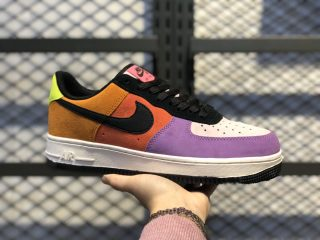 "Nike Air Force 1 ""Pop The Street"" CU1929-605 Prism Pink/Black-Bright Violet"