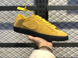 Nike SB Blazer Low Yellow/Black Sneakers For Sale 864347-701