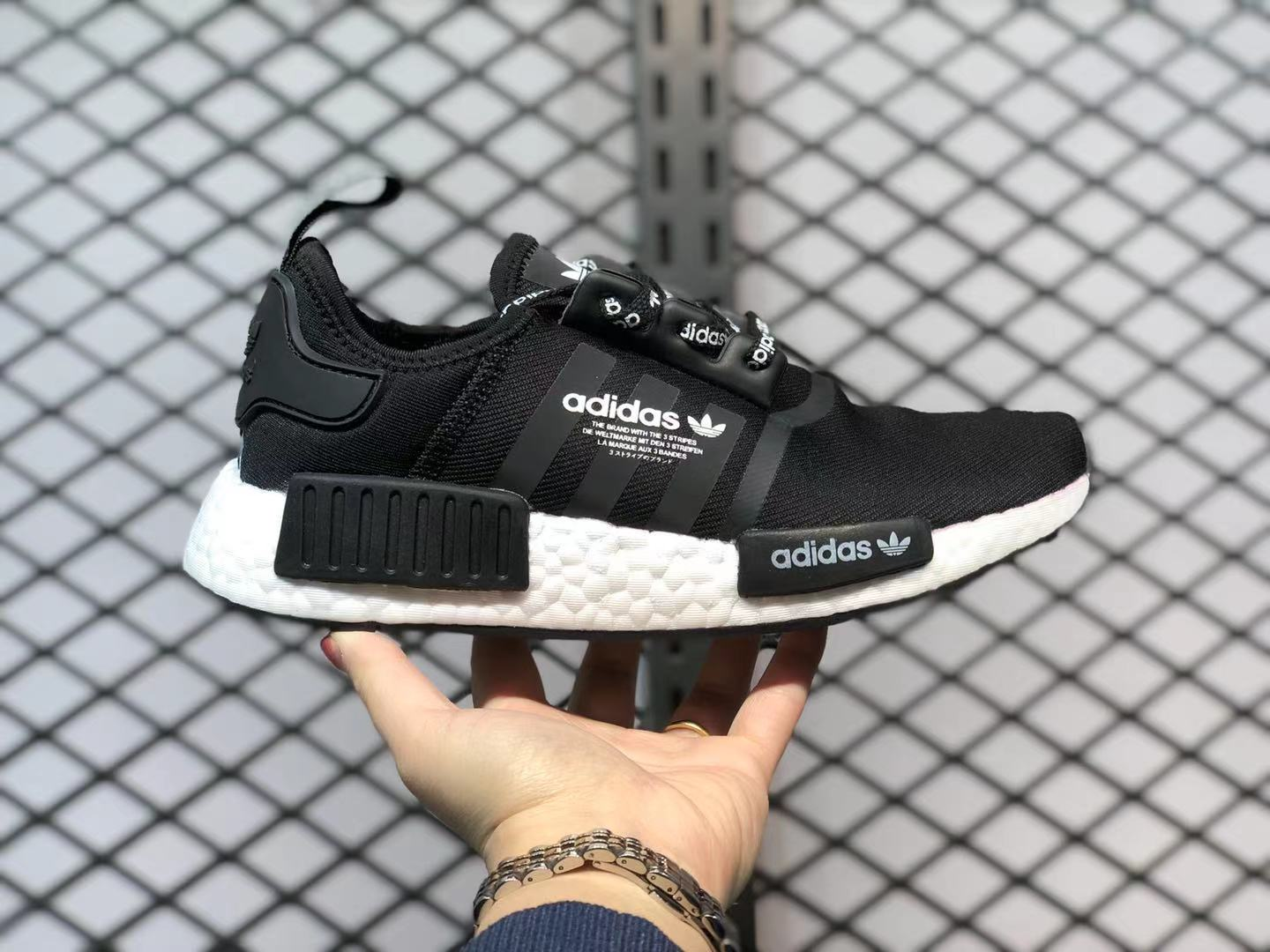 Adidas NMD R1 Core Black/Core Black-Ftwr White Running Shoes F99711