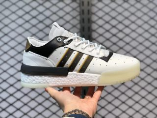 Adidas Originals Rivalry RM Low Cloud White/Core Black-Gold EF6443