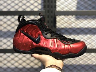Nike Air Foamposite Pro University Red/Black-Black Outlet Online 624041-604