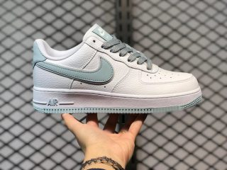 Nike Air Force 1 07 Low White/Ice Blue Skate Shoes AQ2566-201