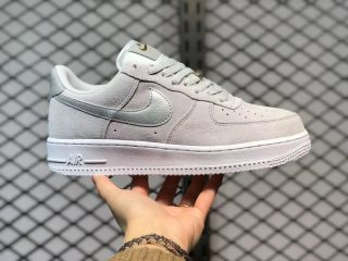 Nike Air Force 1 Low Grey/Metallic Gold-Silver For Sale DC4458-001