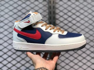 Nike Air Force 1 Mid White/Royal Blue-University Red 512745-068