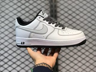 Nike Air Force Low 1'07 White Black Sneakers Outlet Online CN2896-104
