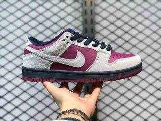 Nike SB Dunk Low BQ6817-001 Atmosphere Grey True Berry Sneakers