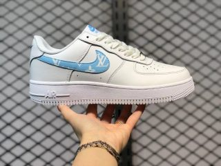 2021 Latest Nike Air Force 1 Low AH0287-215 Upstep White Jade
