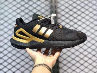 Adidas Day Jogger Black/Metallic Gold Sport Shoes Hot Sale FW4838