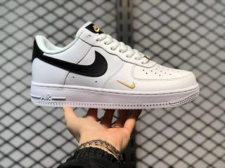 Best Sell Nike Air Force 1 Low White/Black-Gold Skate Shoes CZ0270-102