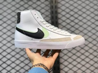 New Sale Nike Blazer Mid '77 SE White/Black-Light Greens DD1847-100