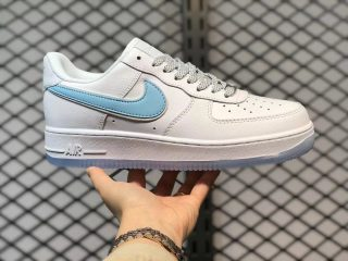 Nike Air Force 1 Low 3M Reflective White/Ice Blue For Sale CT3824-100