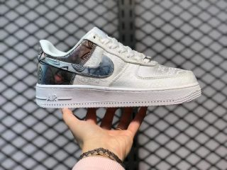Nike Air Force 1 Low White Colorful Casual Shoes New Sale AO6820-100