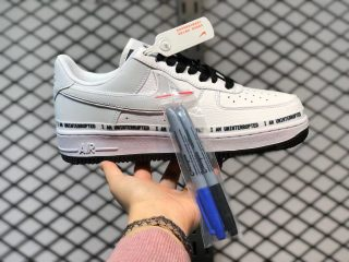 Nike Air Force 1 Low White/Midnight Navy Sneakers Best Sell 352267-801