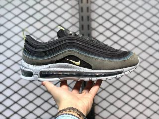 Nike Air Max 97 Black/Slate Blue-Olive-Yellow For Sale DB4611-001