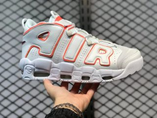 """Nike Air More Uptempo """"Sunset"""" White Orange For Sale DH4968-100"""