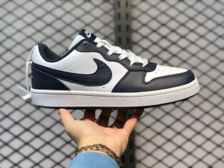 Nike Court Borough Low Whtie/Blue Void/Signal Blue BQ5448-107